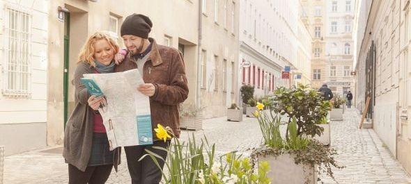 Gyalogostérkép készült Bécsről