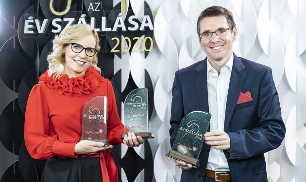 Ezek az Év Szállása 2020 verseny győztesei, hévízi szálloda a fődíjas