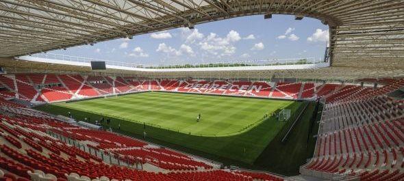 Május 1-jén nyit a debreceni Nagyerdei Stadion - FOTÓK