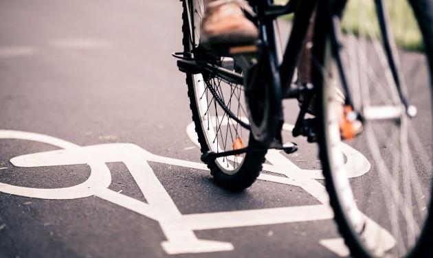 Új kerékpárút épül Dunakeszi és Budapest között