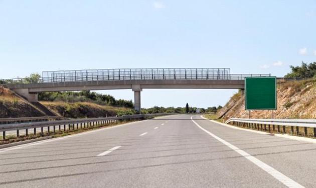 Autópályán Macedóniában