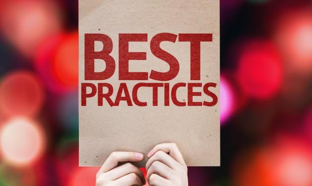 Jó gyakorlatok, gyakorló szakemberektől!