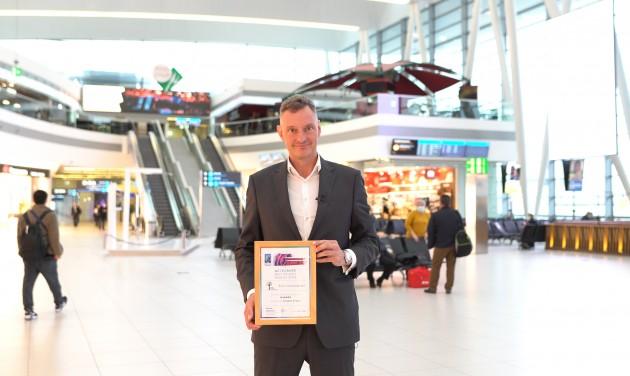 Díjazták a Budapest Airport fenntarthatósági programját