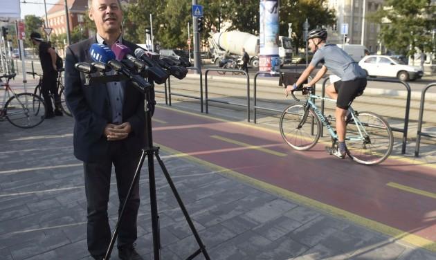 Így bicikliznek a magyarok