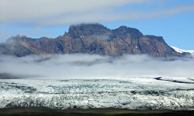 Az eltűnt gleccser mementója