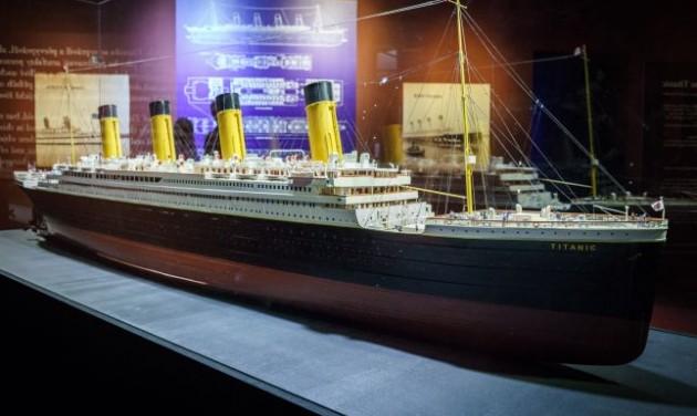 Meghosszabbították a Titanic kiállítást