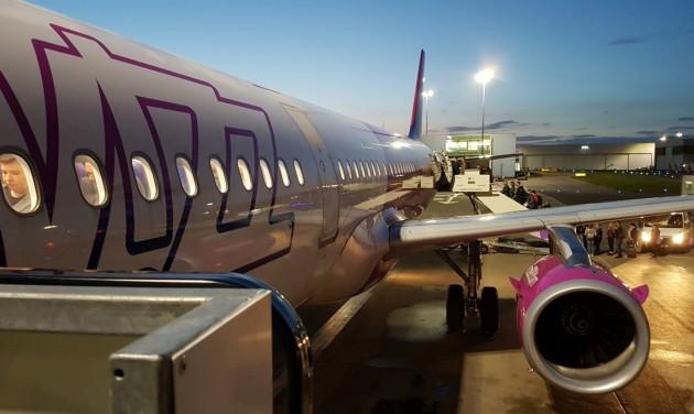 A Wizz Air kivonta a közlekedésből a fertőzött gépet