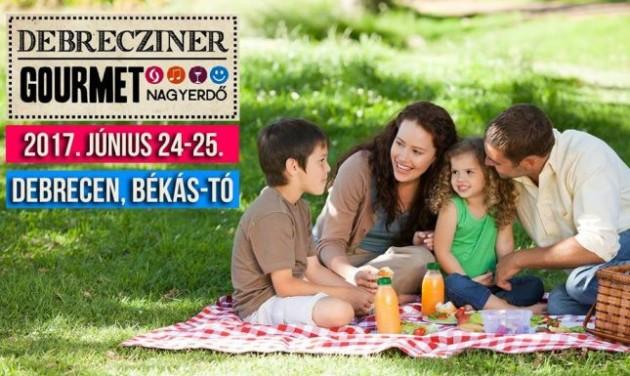 A Hortobágy ízeit állítja középpontba a Debrecziner Gourmet Fesztivál