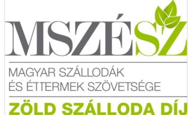 Elindult az MSZÉSZ Zöld Szálloda 2021–22 pályázata