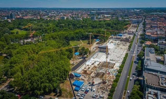 2023-ra az összes új intézmény megnyílik a Városligetben