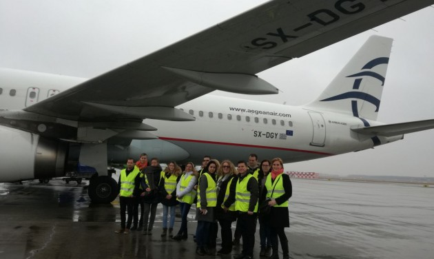 Aegean Airlines - Budapest Airport közös rendezvény