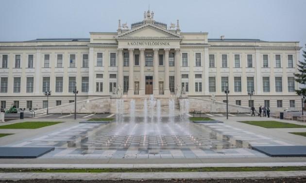 Megszépült Szeged belvárosa