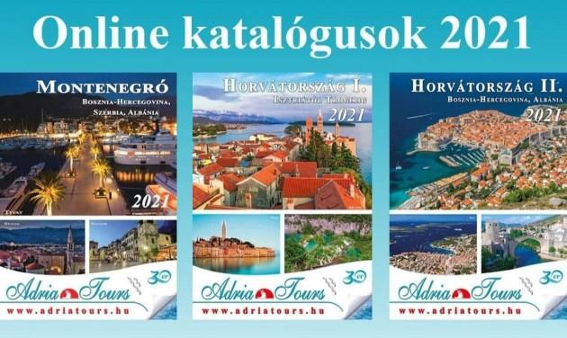 Három katalógusban az Adria Tours idei ajánlatai