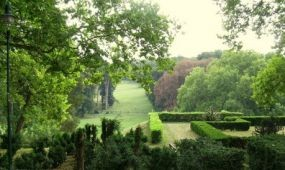 Megújul a füzérradványi kastély parkja