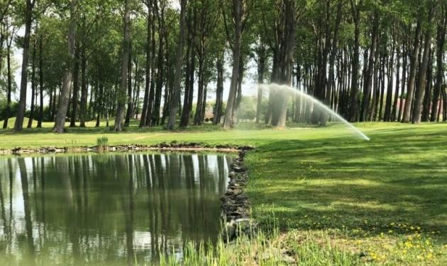 Megújult a Greenfield Golf öntözőrendszere