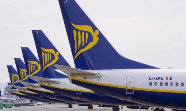 Változások a Ryanair téli menetrendjében