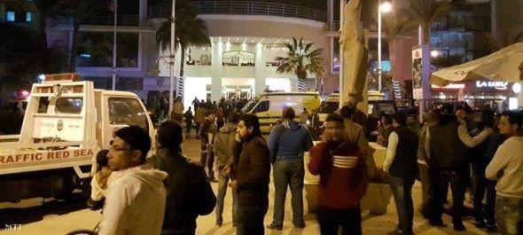 Nem terrortámadás történt az egyiptomi hotelben