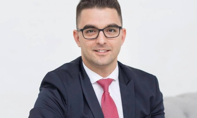 Hunka Ferenc a Barack Thermal Hotel & Spa igazgatója