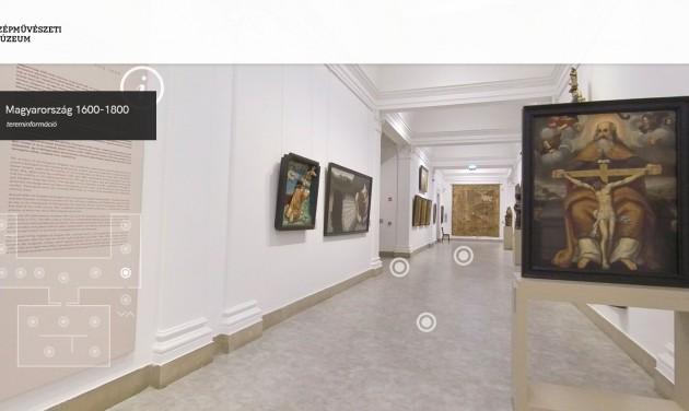 Szépművészeti Múzeum otthonról