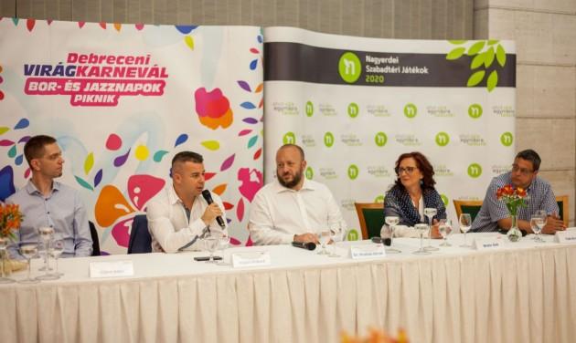 Debrecenbe visszatér a fesztiválhangulat