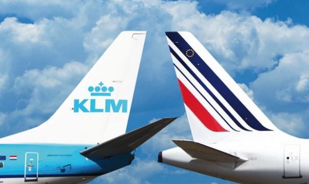 Áresés az Air France-KLM-nél