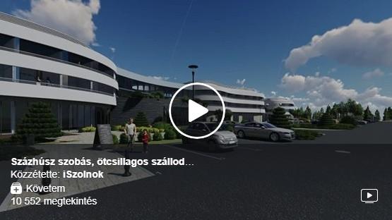 Ilyen lesz Szolnok első ötcsillagos szállodája – videó