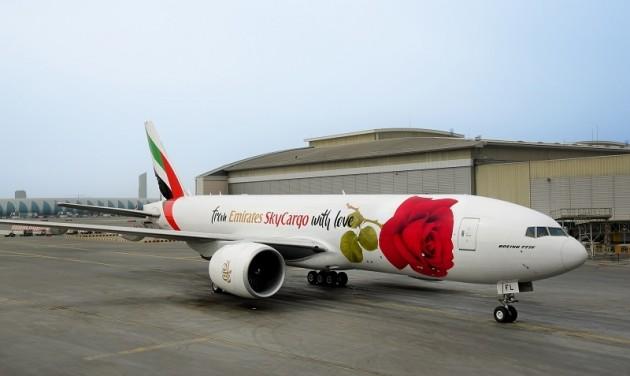 Rózsába borult az Emirates SkyCargo