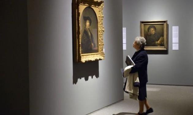 Megnyílt a Szépművészeti Rembrandt-kiállítása