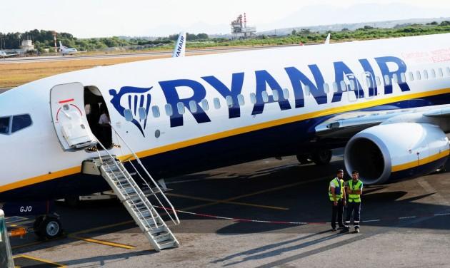 A Ryanair 80 százalékos visszaesést vár áprilisban és májusban