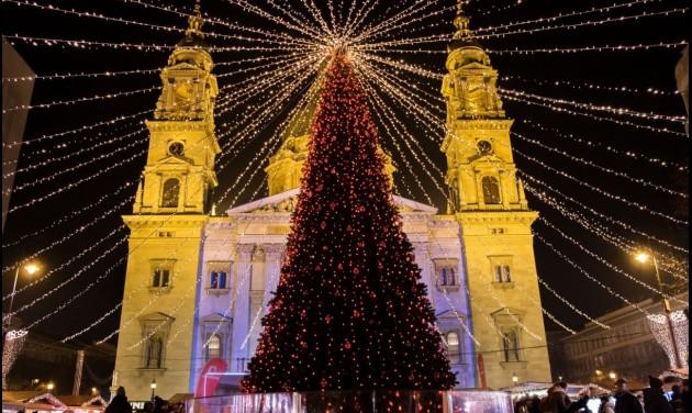 Európa második legjobb karácsonyi vására az Advent Bazilika