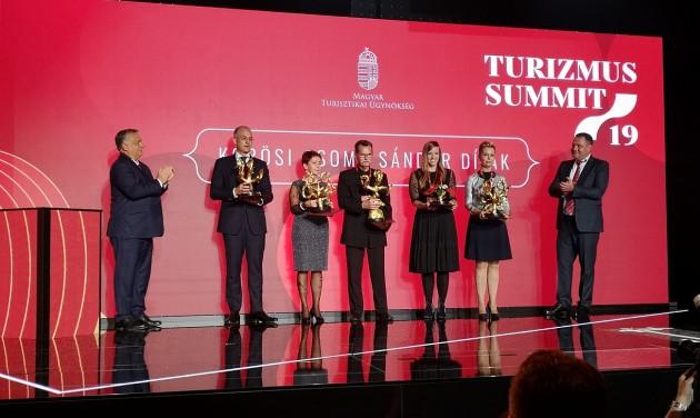 Turizmus Summit: öten kaptak Kőrösi Csoma Sándor-díjat