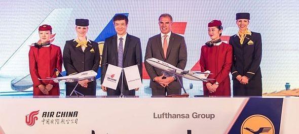 A Lufthansa Csoport és az Air China kereskedelmi vegyesvállalatot hozott létre