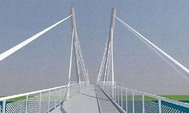 Gyalogos-kerékpáros híd épül Dunakiliti és Doborgaz között