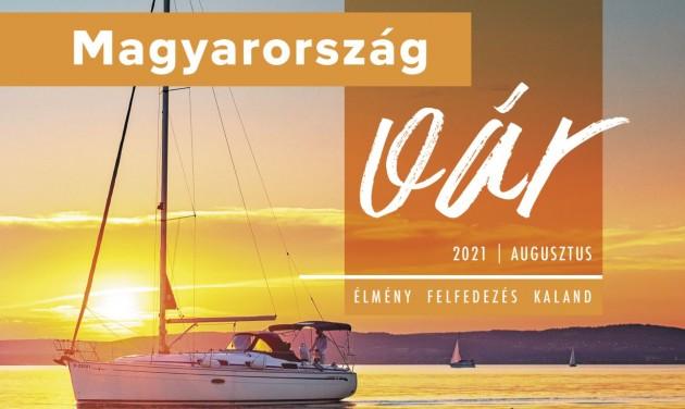 Itt a Magyarország vár belföldi utazási magazin új száma