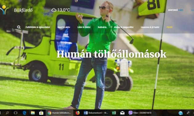 Megújult Bük, Bükfürdő turisztikai weboldala