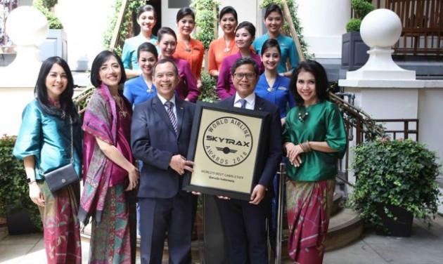 Győztesek a World Airline Awards díjkiosztón