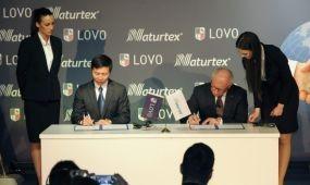 Stratégiai megállapodást kötött a szegedi Naturtex és a kínai Luolai Home Textile