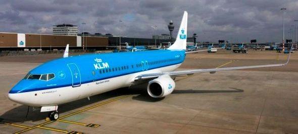 Indul a KLM negyedik amszterdami járata