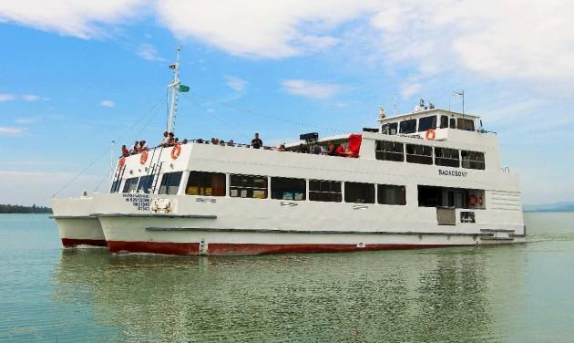 Félmillió utas a BAHART személyhajóin