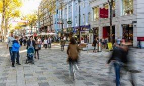A gyaloglás az új divat Bécsben