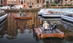Hamarosan önjáró hajók szelik a habokat Amszterdamban