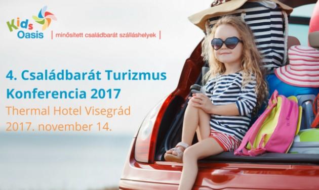 Már csak 2 hét és kezdődik a Családbarát Turizmus konferencia!