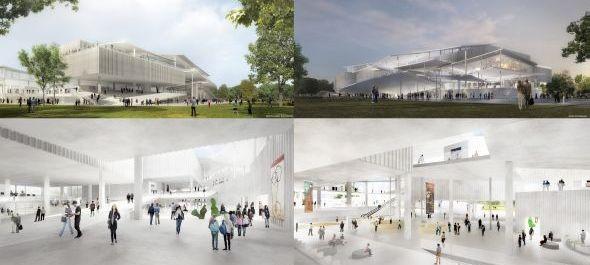 Két első helyezett az Új Magyar Nemzeti Galéria tervpályázatán