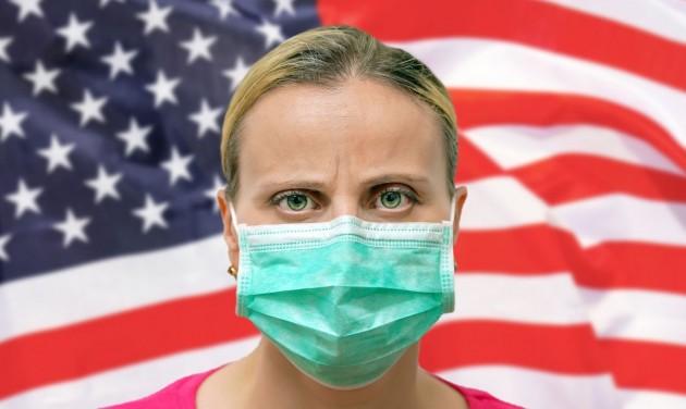 Több amerikai állam az utcán is kötelezővé tette a szájmaszkot