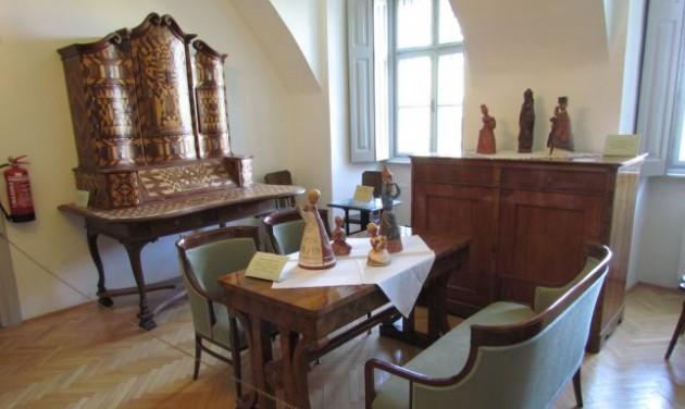 XXI. századi múzeumi kiállítótér Szécsényben