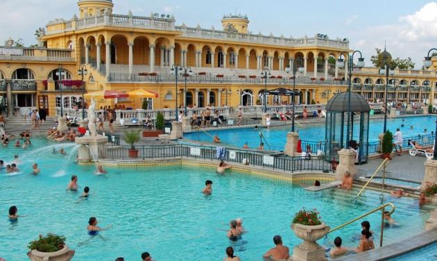 Az oroszok tavaly a budapesti fürdőket látogatták