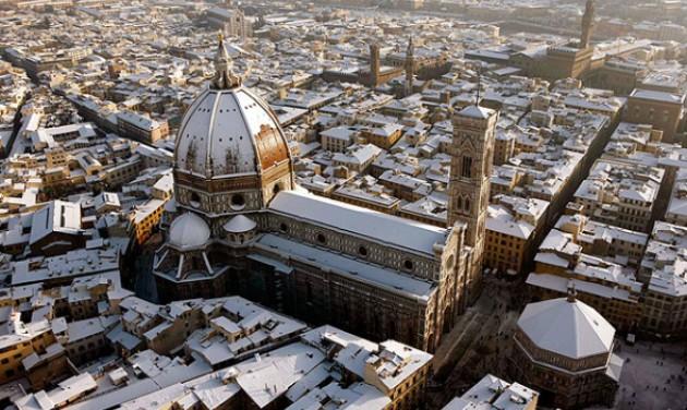 Fél Olaszország hó és jég alatt
