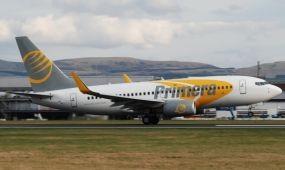 Primera Air Scandinavia a Hahn Airnél