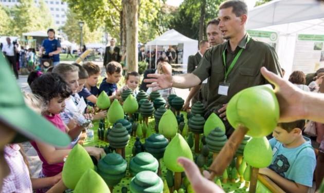 Budapestre költöznek az erdők két napra