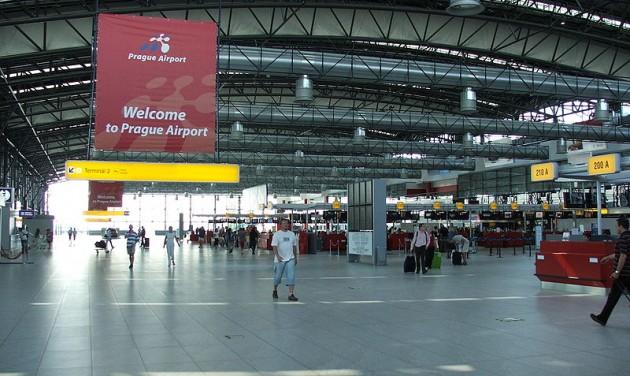 Rekordot döntött a prágai reptér
